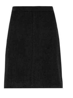 A-Line Mini Skirt with New Wool