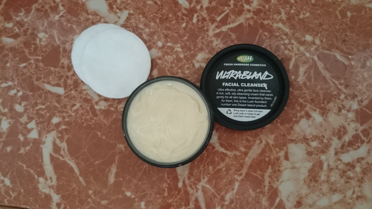 Lush Ultrabland: One of my favourite cleansers